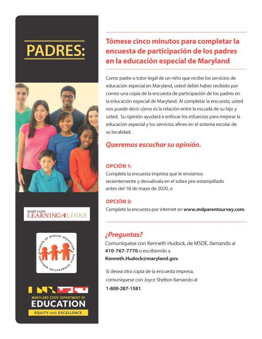 Parent SurveyFlyer_Spanish (1)